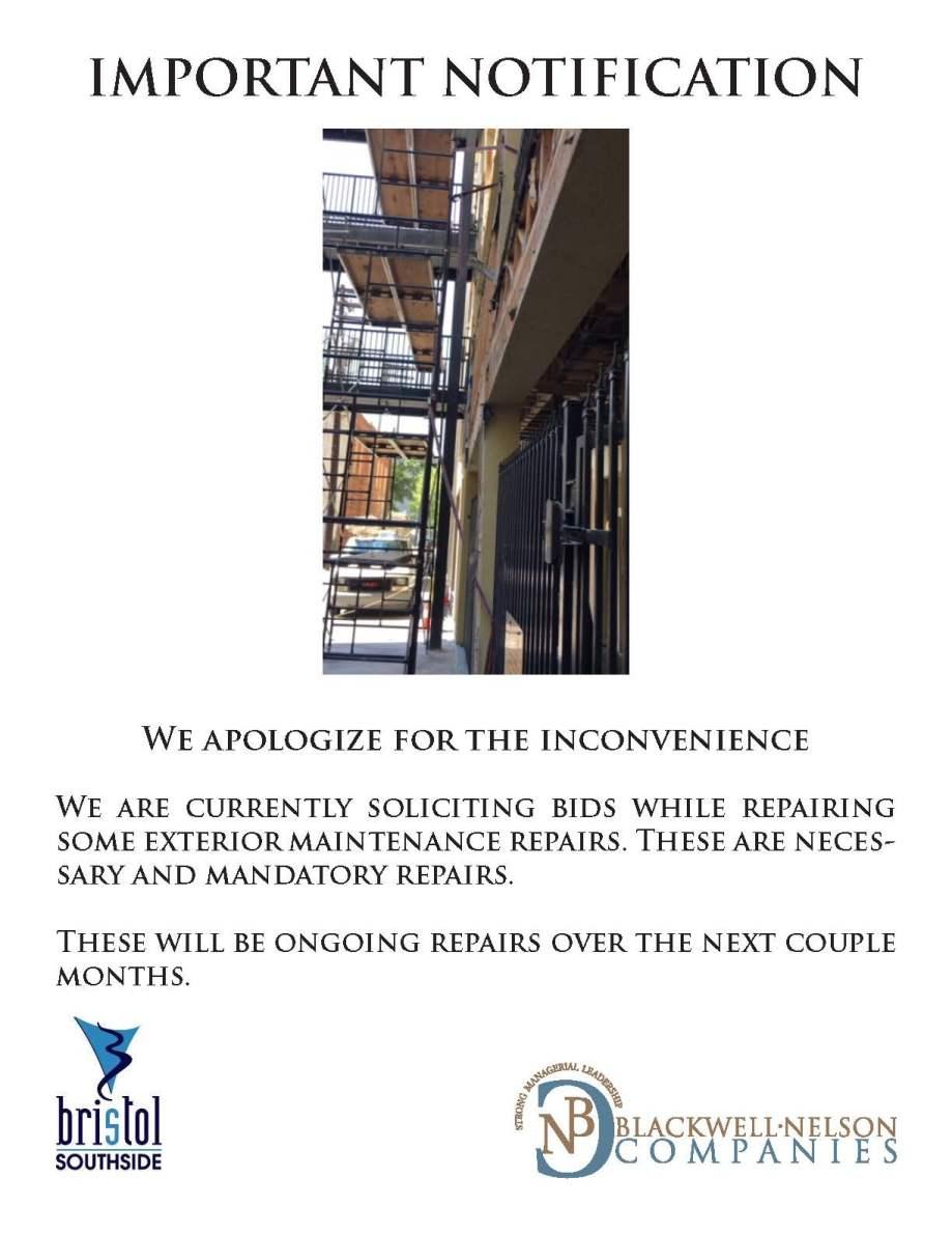 Bristol Progess Notice